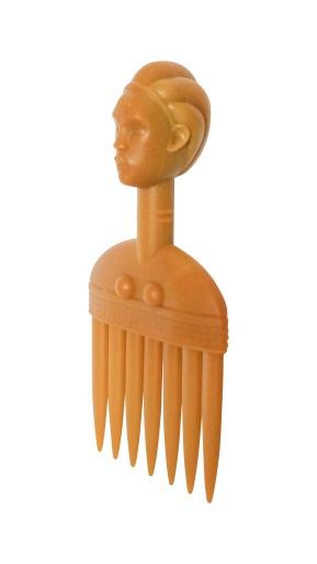 mini peigne afro de profil